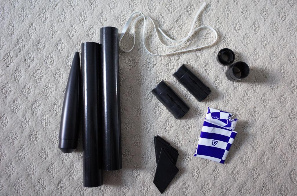 Amazon black rocket pre-assembly