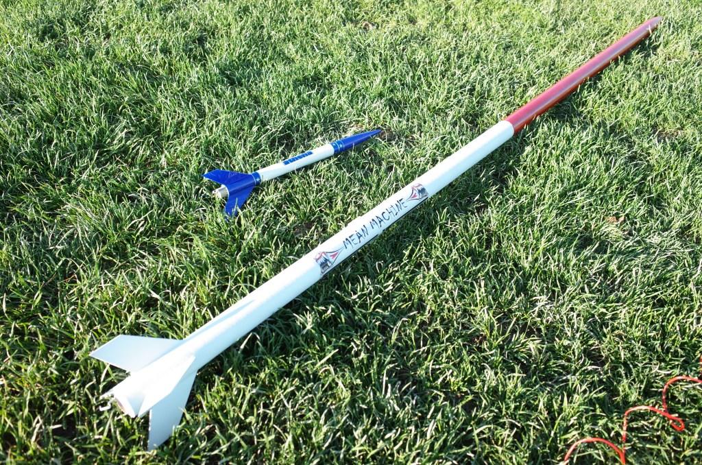 Small rocket, large rocket