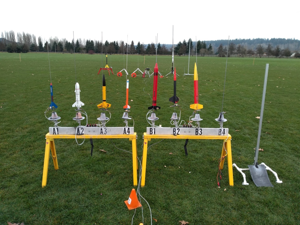 Rocket range - smaller launch pads