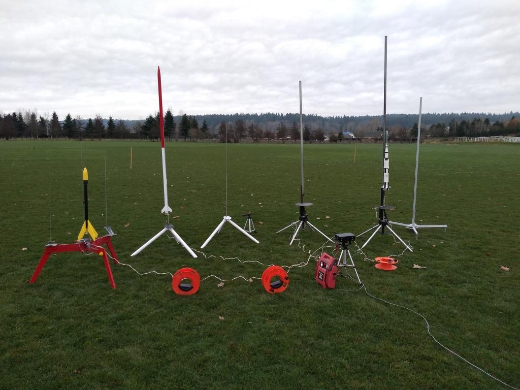 Rocket range - larger pads