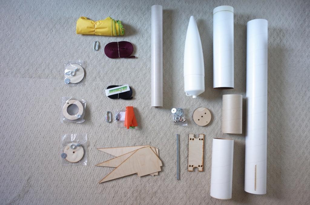 HyperLOC 835 kit parts