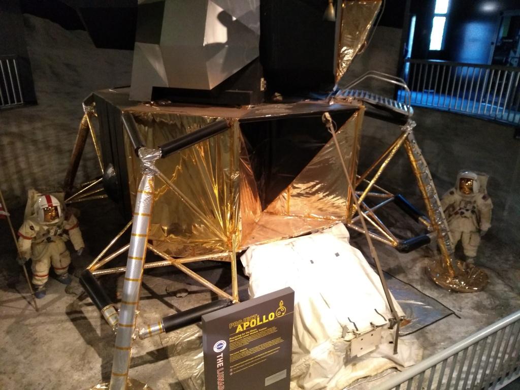 Apollo lunar landing display