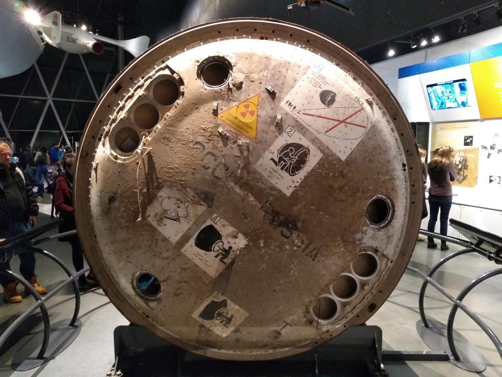 Soyuz (Russian) descent module