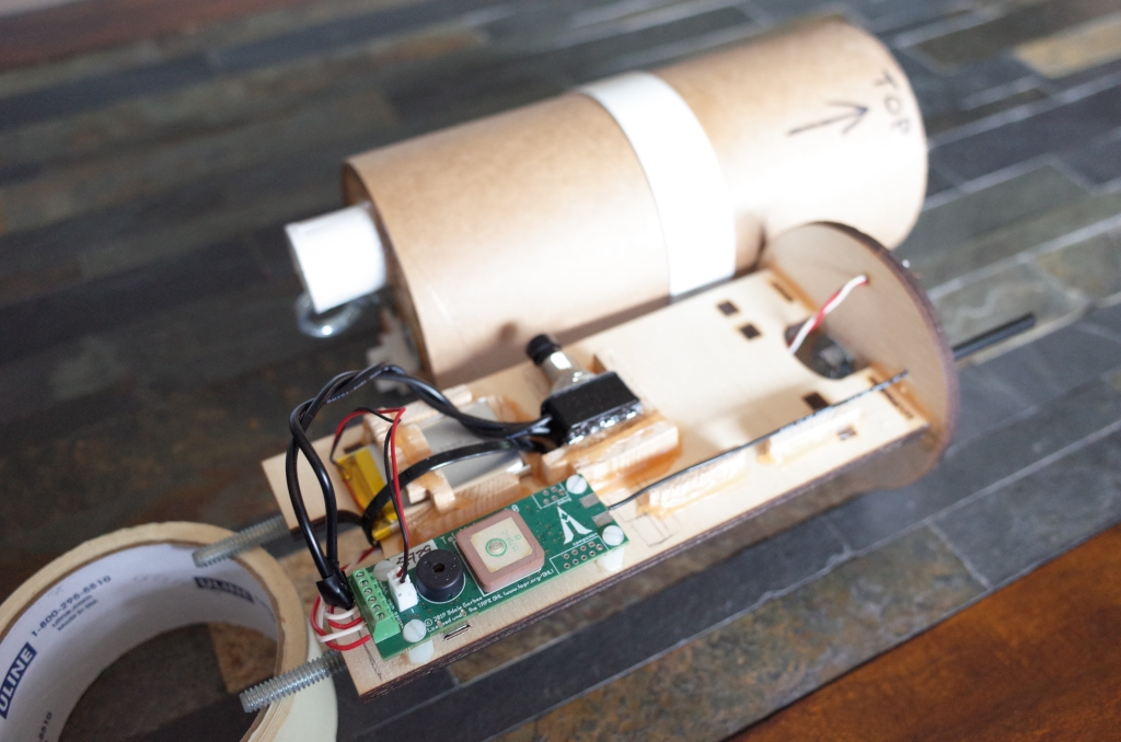 finished e-bay, next to cardboard outer tube which doubles as a coupler in the rocket body
