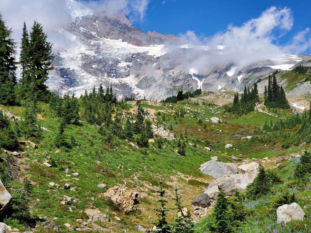 Skyline Trail, with Mt. Rainier